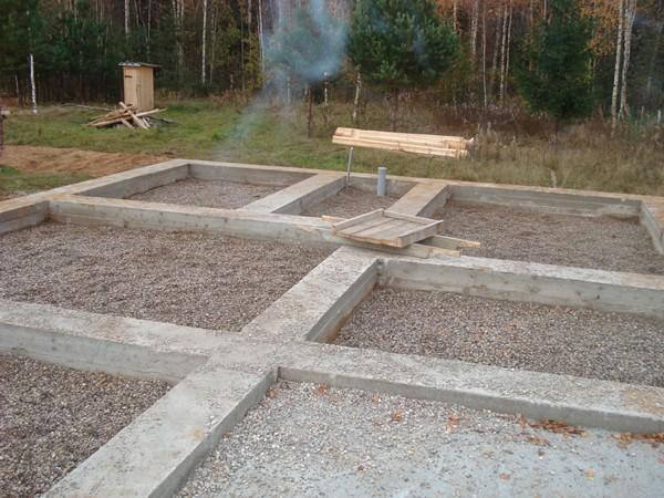 Как сделать фундамент для газобетонного дома