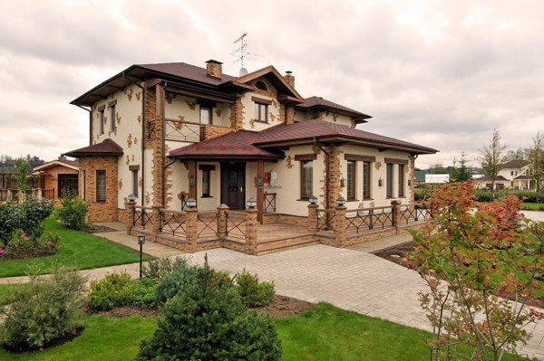Дизайн одноэтажных домов фото